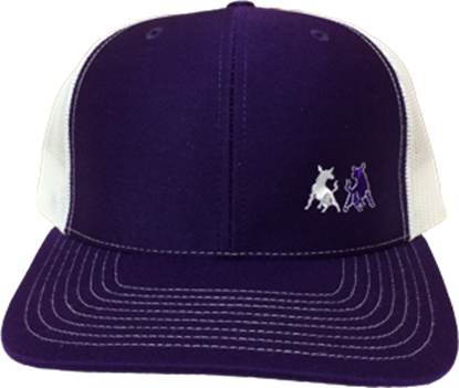 Picture of TwoBulls Mesh Cap - Purple & White