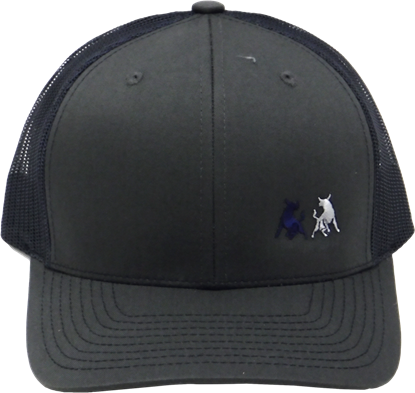 Picture of TwoBulls Mesh Cap - Charcoal & Navy